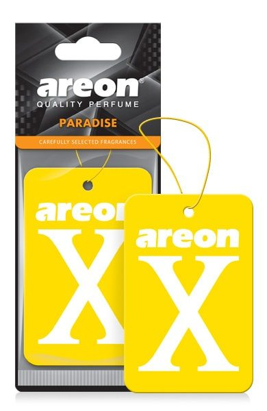 Paradise XV18D Areon X Hanging Best Car Air Freshener (pack of 3)