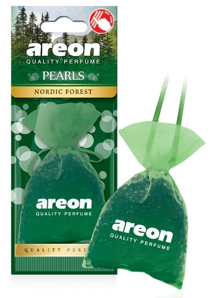 Nordic Forest ABP15 – Areon Pearls Car Air Freshener (pack of 3)