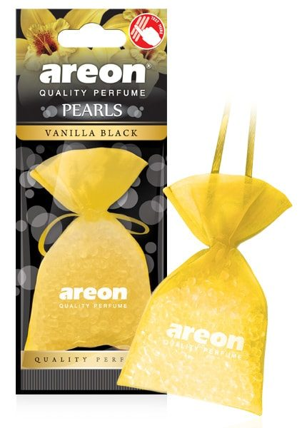Vanilla Black ABP14 – Areon Pearls Car Air Freshener (pack of 12)