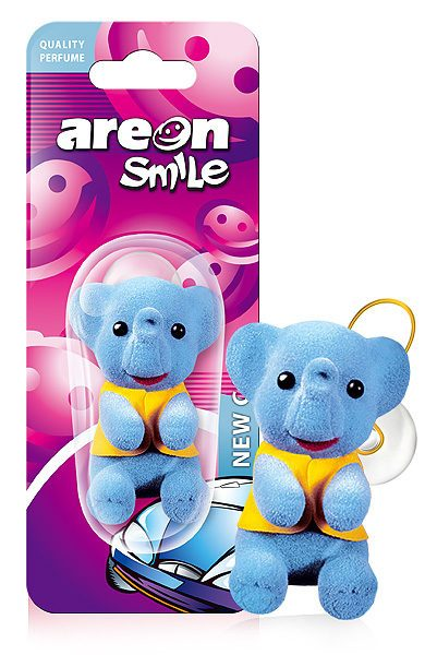New Car ASB02 – AREON Smile Toy Funny Car Air freshener (pack of 12)