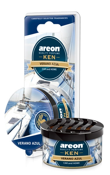 Verano Azul AKB17 – Areon Ken Car Scent Air freshener (pack of 3)