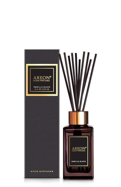 Vanilla Black PSL03 – Home Fragrance Reed Diffuser 85ml (pack of 3)