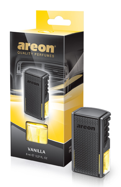 Vanilla ACP08 Areon Car Air Freshener Vent Clips (pack of 3)