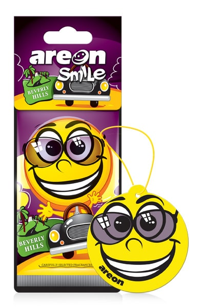 Beverly Hills ASD25 – AREON Smile Funny Car Air freshener (pack of 3)