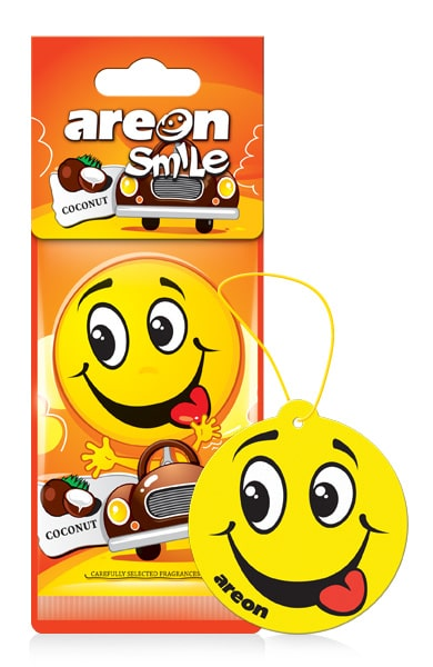 Coconut ASD20 – Areon Smile (pack of 3)
