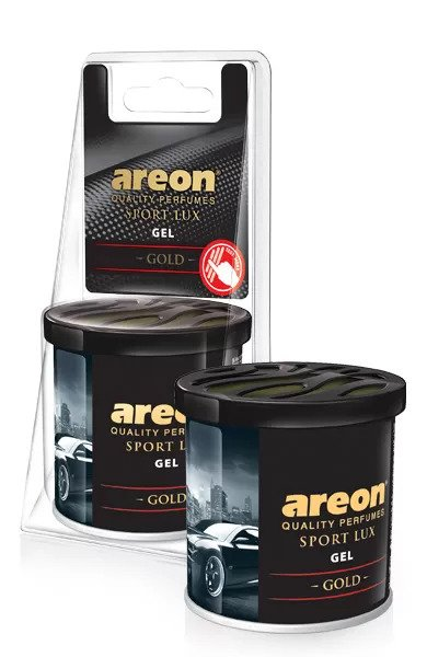 Gold GSLB01 – Areon GEL Sport Lux Best Car Air Freshener (pack of 12)